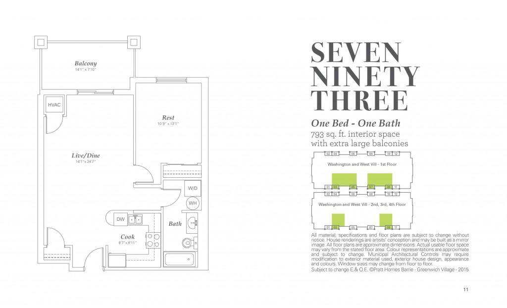 Seven Ninety Three (below ground parking)